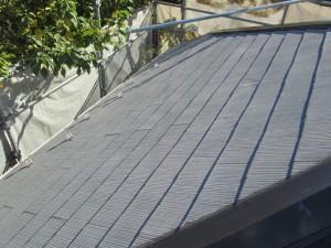④屋根 タスペーサー・下塗り