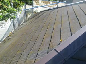①屋根施工前
