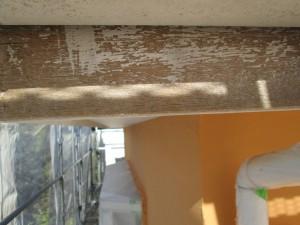 ㉕破風塗装施工前