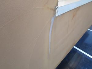 ⑨外壁クラック補修後