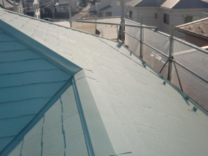2015.01.30I様⑮大屋根塗装施工完了