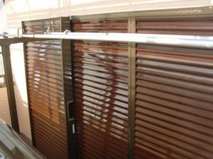 2015.01.30I様⑥雨戸鏡板塗装施工完了