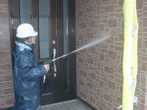 2015.01.30I様③外壁高水圧洗浄