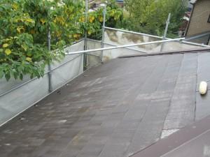 ③屋根プライマー塗布