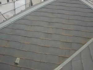 2015.01.30I様②大屋根塗装施工前