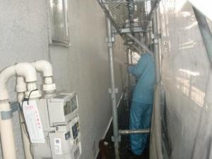 2外壁高圧洗浄