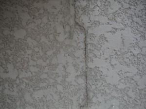 2015.07.16I様邸④外壁クラック補修前