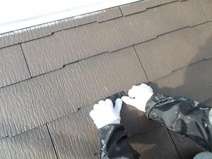 2015.02.6N様⑥下屋根タスペーサー取付