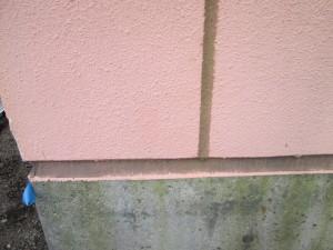2015.04.03Y自治会館様①外壁目地シーリング工事施工前