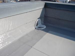 2015.03.26S様邸⑱立ち上がりウレタン塗膜防水工事施工完了