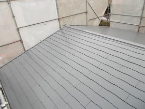 2015.02.6N様⑫下屋根塗装施工完了