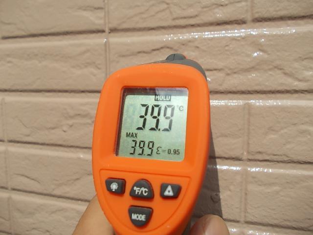 2014.9.18N様邸温度測定 外壁塗装後