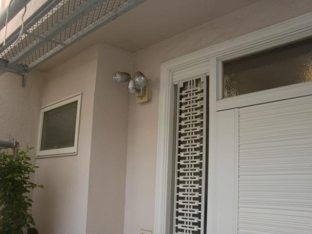 2015.07.24S様邸㉕玄関前外壁施工前
