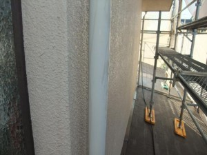 2015.02.6N様①縦樋塗装施工前