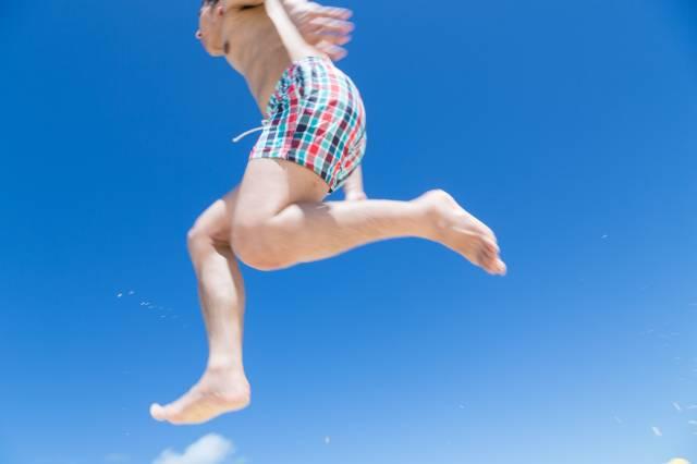 夏 ジャンプ