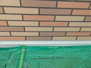 2014.12.26K様邸㉘水切り塗装施工前