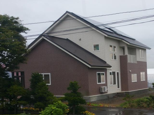 北海道雨樋がない4
