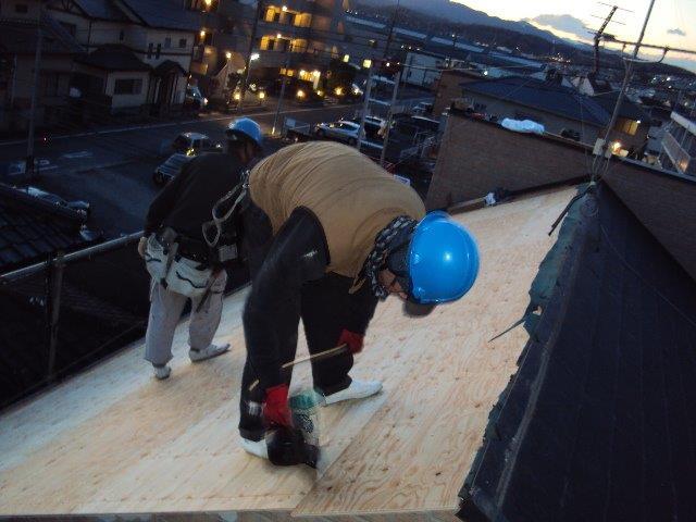 20160304Fアパート様㉑新規の地板