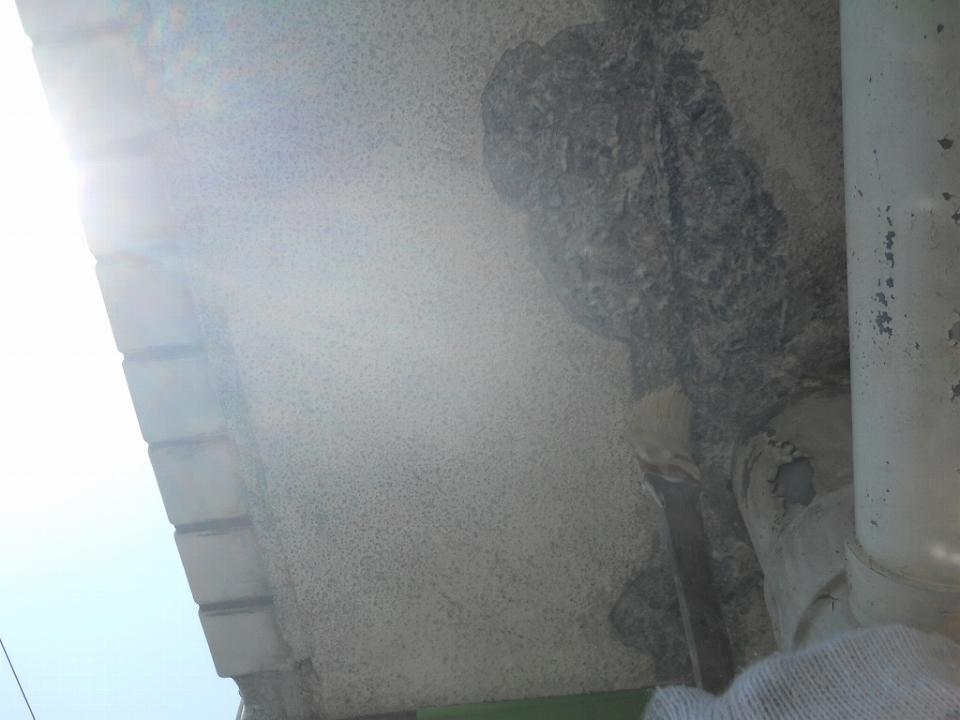 20160701Sマンション様④プライマー塗布施工中