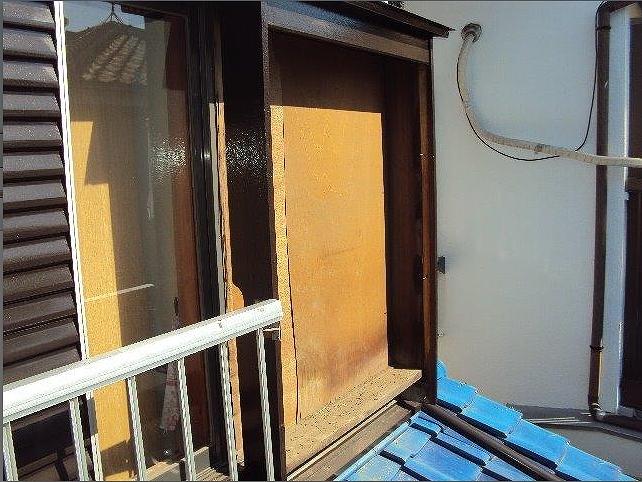 20160920様邸戸袋鏡板撤去完了