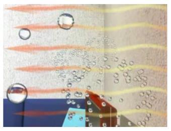 遠赤外線とマイナスイオンの発生
