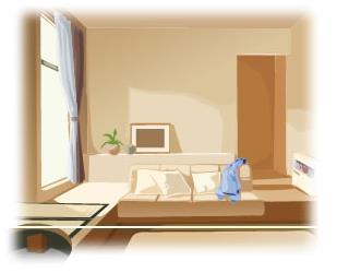 アレスシックイお部屋イメージ