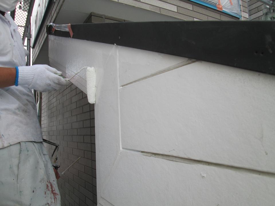 20170602Y様邸②下塗り施工中