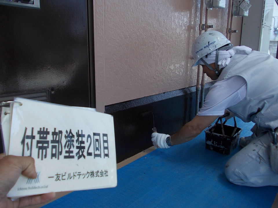 20170630Nアパート様②付帯部塗装2回目