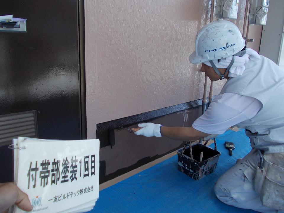 20170630Nアパート様①付帯部塗装1回目