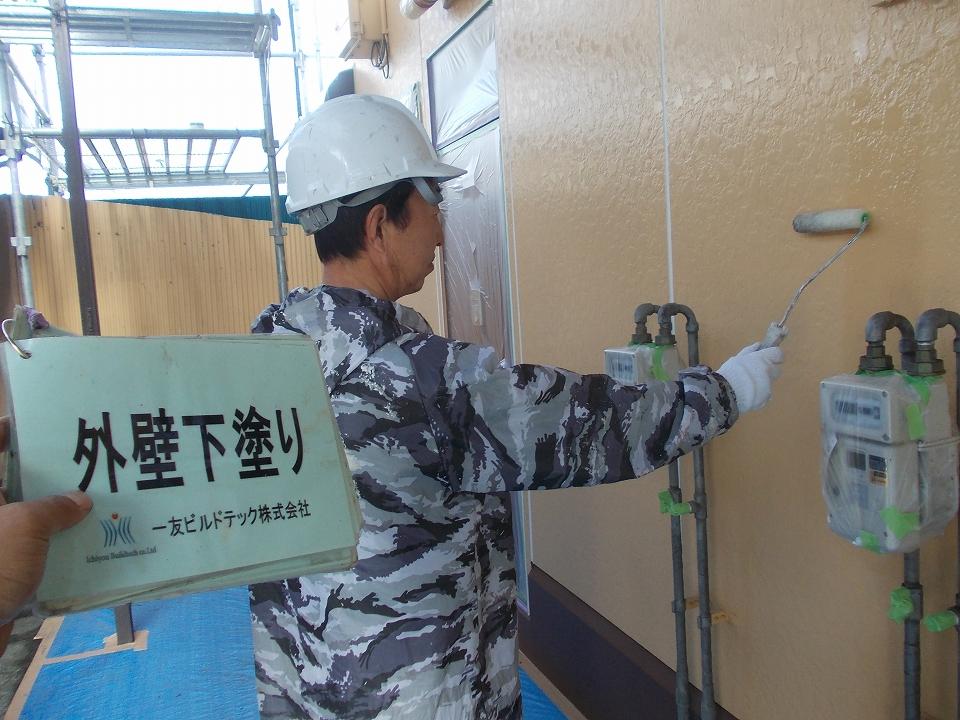 20170630Nアパート様④外壁下塗り