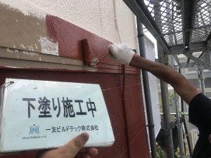 20171102I様邸④下塗り施工中