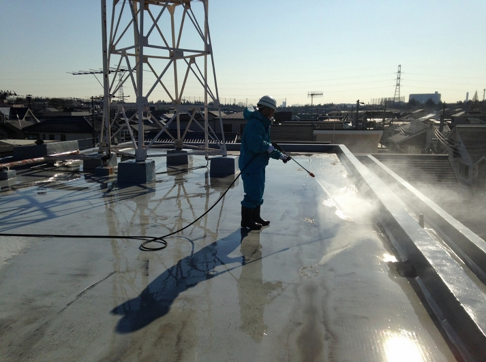 20171027Aビル様⑥高水圧洗浄