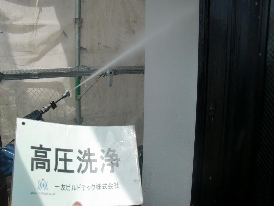 20171013K様②高圧洗浄