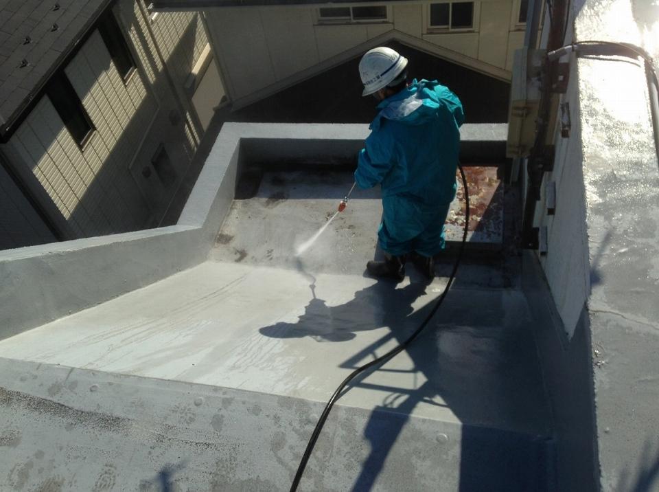 20171027Aビル様⑦高水圧洗浄