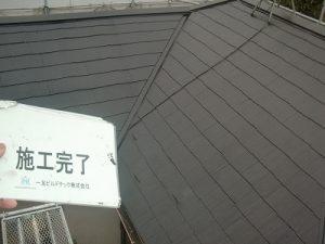 20171208H様⑬屋根施工完了