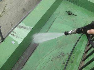 20180105T様邸②防水 高水圧洗浄