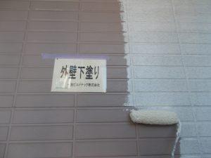 20180202H様邸③1階 下塗り