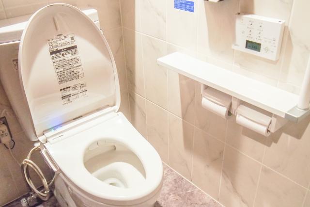 塗装職人さんがトイレを借りる事はありません