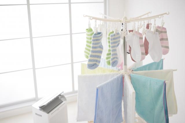 外壁塗装中も洗濯物は干せます