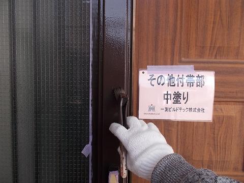 20180907U様邸④木枠 中塗り