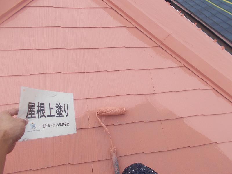 20190118S様邸⑩屋根 上塗り