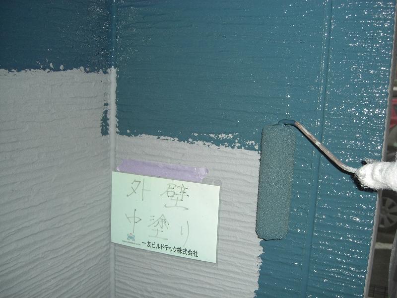 20190412T様邸④外壁 中塗り