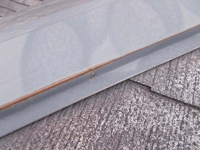 20190405S様邸⑤屋根 板金釘浮き3