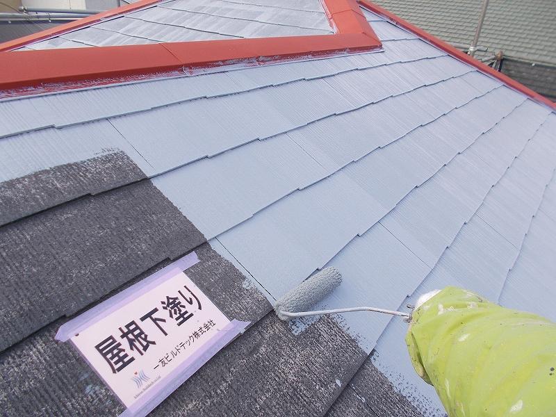 20190405S様邸⑧屋根 下塗り