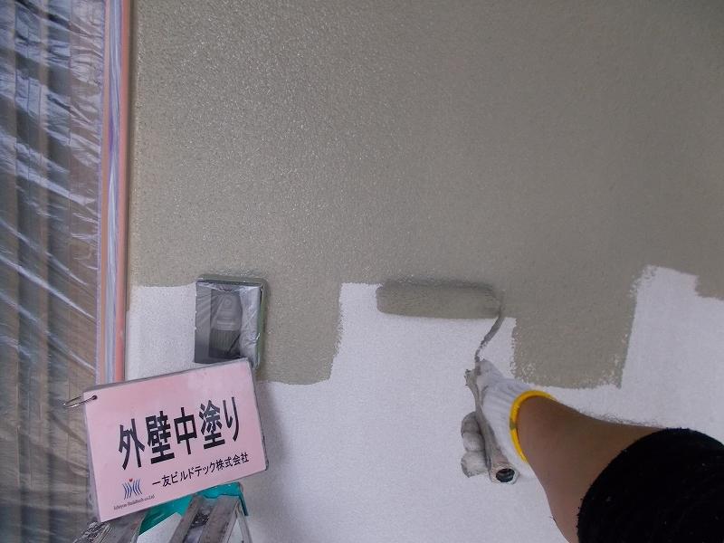 20190503T様邸④外壁 中塗り