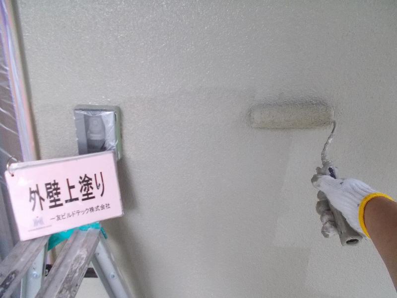20190503T様邸⑤外壁 上塗り