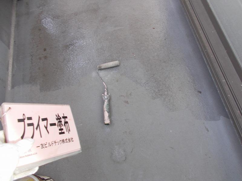 20190607I様邸②防水 プライマー塗布
